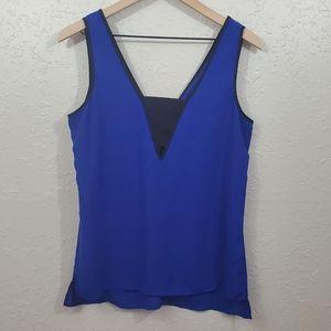 Express Blue Blouse Tank Top